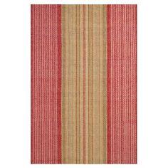 Wayfair Homemaker Tips: Hand Woven Red Area Rug