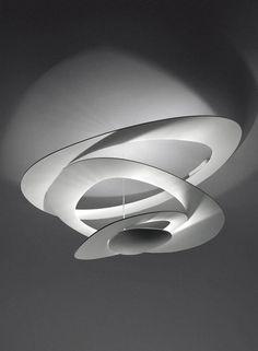 Pirce - soffitto :: Design Giuseppe Maurizio Scutellà for Artemide