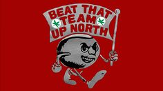 BEAT THAT TEAM UP NORTH T-SHIRT.
