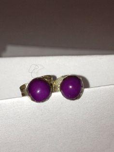 Navajo Sugilite Sterling Earrings Studs Sugalite by BargainBitz