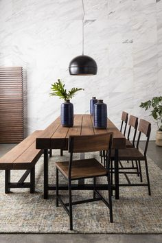 """Luther 84"""" Dining Bench"""