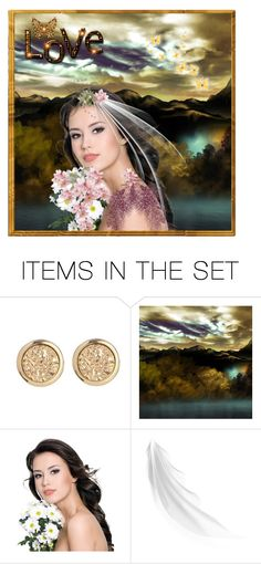 """""""Portrait"""" by callmerose ❤ liked on Polyvore featuring art"""