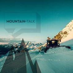 Wir freuen uns über viele Zentimeter #Neuschnee und auch die #Pistengeräte am Kaunertaler Gletscher sind eifrig beim #Präparieren dieser Tage! ©Kaunertaler Gletscherbahnen GmbH #kaunertalergletscher #mountaintalk #photooftheday #potd