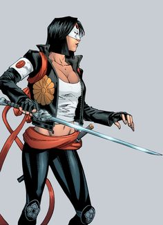 Katana in Suicide Squad Most Wanted: Deadshot and Katana #4