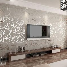 Luxury Embossed Wallpaper