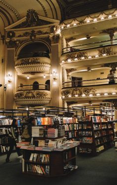 Largest Countries, Countries Of The World, Latin America, South America, Libreria El Ateneo, Places To Travel, Places To Visit, Tango, Wonderful Places