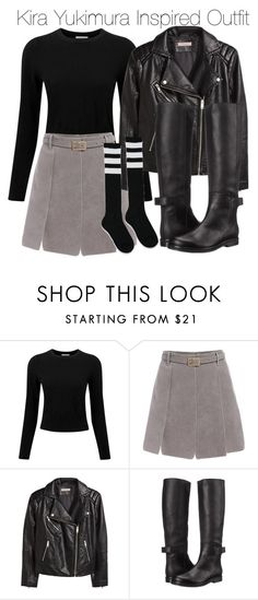 """""""Kira Yukimura Inspired Outfit"""" by staystronng ❤ liked on Polyvore featuring Pure Collection, H&M, MM6 Maison Margiela, Forever 21, Winter, tw and Kirayukimura"""