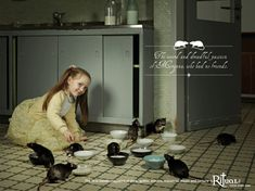 Print ad for Ritual Magazine by Ogilvy & Mather