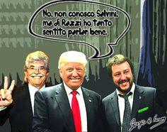 Trump: Salvini? Mai sentito nominare!