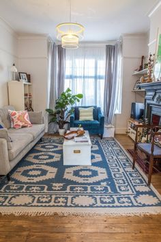 House Tour: A Renovated East London Edwardian Flat | Apartment Therapy