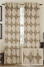 """Astounding Burlap Linen Curtain Panel 