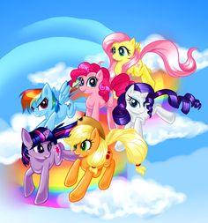 Ponies by madelezabeth.deviantart.com on @deviantART