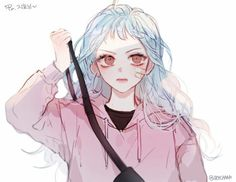 Find images and videos about girl, art and aesthetic on We Heart It - the app to get lost in what you love. Manga Girl, Anime Art Girl, Anime Style, Kero Sakura, Estilo Anime, Ecchi, Anime Angel, Illustration Girl, Character Drawing