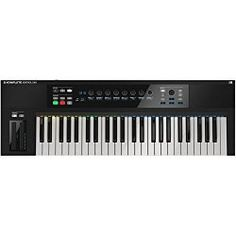 About the Native Instruments keyboard controller called KOMPLETE KONTROL S-SERIES. See the pros and cons of this controller for a home recording studio. Native Instruments, Music Instruments, Home Recording Studio Equipment, Midi Keyboard, Dj, Notes, Products, Ideas, Fashion