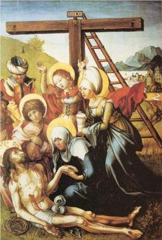 Lamentation of Christ - Albrecht Durer