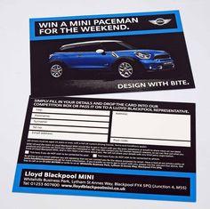 Promotional leaflets & business cards http://www.spotonprintshop.co.uk/leaflets/cat_45.html