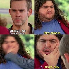 Hurley & Charlie. I love these two! Lol | lost