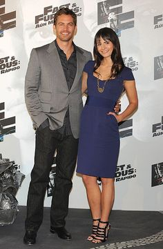 Paul Walker with his Fast & Furious co-star Jordana Brewster at the Fast & Furious 4 Madrid photocall in Paul Walker Daughter, Cody Walker, Rip Paul Walker, Paul Walker Tribute, Paul Walker Photos, Jordana Brewster Paul Walker, Fast And Furious Actors, Paul Walker Movies, Furious Movie