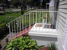 Exterior: Pretty Wrought Iron Porch Railing Ideas Best Porch Railing Design For Your Home Outdoor Handrails Metal Porch Railing Lowes Porch Railing Porch Railing Designs from Porch Railing Keep Our Porch Nicely