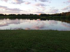 Lake at Veteran's Park, Hamilton, NJ