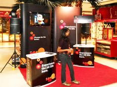 Mall Activation for Tata Docomo using our portable product Expo Prestige. Know about  us http://www.expodisplayservice.ae/