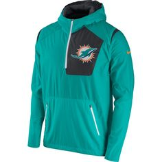 Nike Oregon Ducks Anthracite Coaches Sideline Lockdown Half Zip Wind Jacket