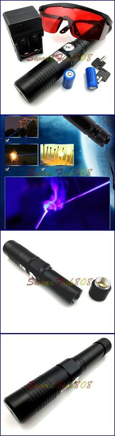 laser pointers aluminum blue laser pointer pen power beam burn