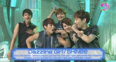 """SHINee performs """"Dazzling Girl"""" on NTV's 'Happy Music'"""