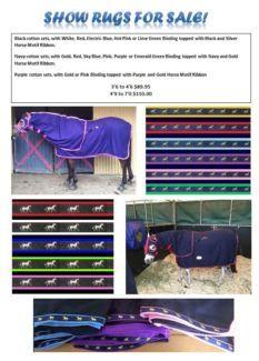 Cotton Show Sets Mini 89 95 Pony Horse 110 00 Pp Horses Ponies Gumtree