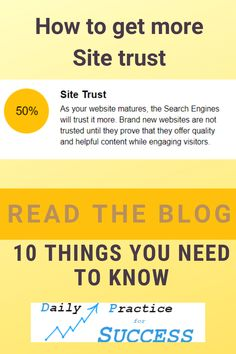 Read my blog to find out what you can do to increase your website trust. I have listed 10 things you need to know to get more website trust. Find out now! What You Can Do, How To Find Out, How To Make Money, Marketing Tools, Internet Marketing, Search Engine Marketing, Seo Tools, Trust Issues, Earn Money Online