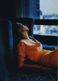 "snowce: "" Glen Luchford, Kate Moss, Vogue US, April 1995 """