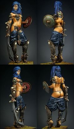 Ra'eesah Desert's Guard by majo