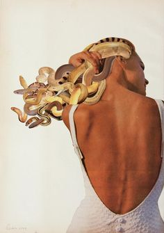 Medusa, 2011 Javier Piñón, from The Age of Collage Vol. 2, Copyright Gestalten 2016