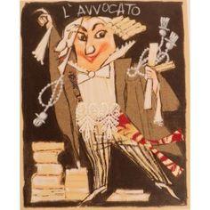 L'avvocato, Paolo Fresu Serigrafia #gliartistidiGALP