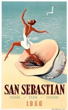 San Sebastian, Spain 1956