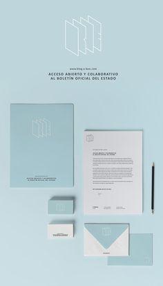 HOY ES EL DÍA - Diseño de Identidad Corporativa para Open BOE #diseño #design #brand #marca #graphic
