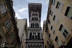 Elevador de Santa Justa, Lisboa, Portugal - Arquitetura e lugares | Osvaldo Furiatto Fotografia e Design