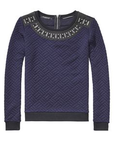 Gewatteerde sweater - Scotch & Soda