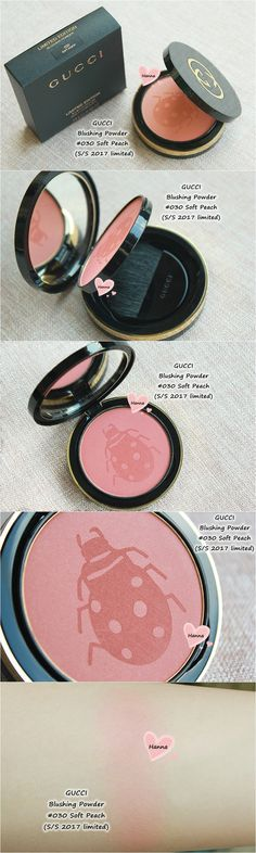 GUCCI Blushing Powder in no.03 'soft peach' (SS 2017 limited)