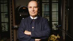 François Mitterrand, en 1988, au mitan de ses deux septennats.