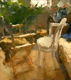 Jordan Wolfson Interior with Two Chairs and Sofa My Doll House, Painter Artist, Leonard Cohen, Paintings I Love, Exhibitions, Science Nature, Light Colors, Painting & Drawing, Tables
