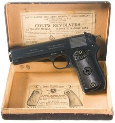 Near New Colt Model 1903 Pocket (Hammer) Semi-Automatic Pistol ...