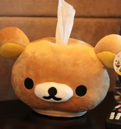 rilakkuma tissue box cover? cute!