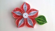 How To Make A Beautiful Flower Quilling - DIY Crafts Tutorial - Guidecen...