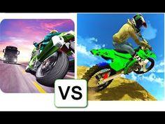 Traffic Rider VS Extreme Bike Stunts Mania Android Gameplay HD