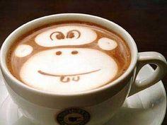 kaffe djur