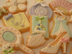 fashion girlie cookies
