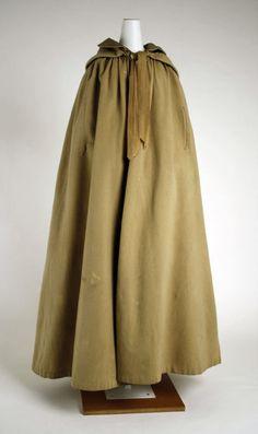 1830s cloak via The