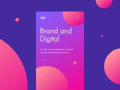 Elje-group Brand and Digital by Stan Yakusevich - Dribbble