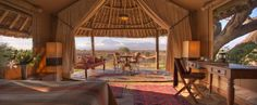Glamping Hub is the leading online booking platform for unique accommodations: luxury camping, cabins, tree houses, yurt tents, and more! Go glamping! Camping Glamping, Luxury Camping, Great View, Kenya, Tanzania, Lodges, The Good Place, Safari, Places To Go